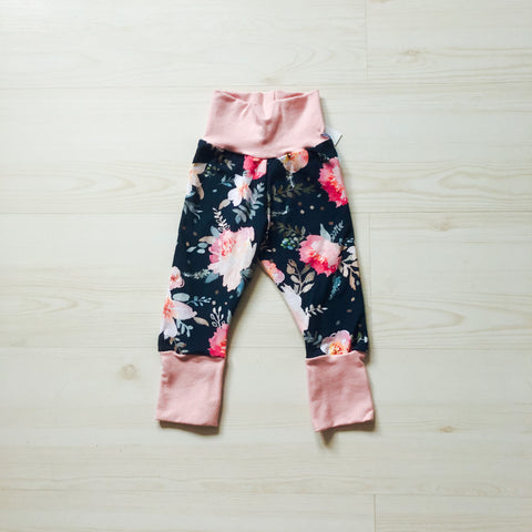 Grow With Me Pants - Floral