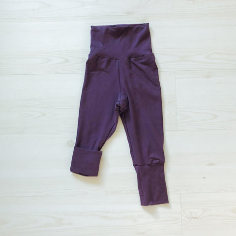 Grow With Me Pants - Soft Plum