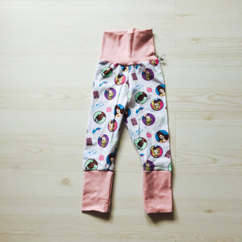 Grow With Me Pants - Princess Power