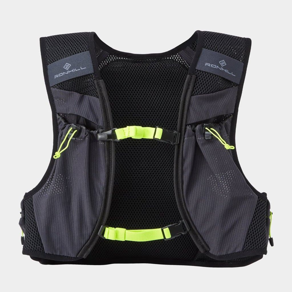 Ronhill Pioneer 8L Vest Charcoal Fluo Yellow