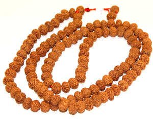 Original 8 Mukhi Rudraksha Mala for Daily Wear or Mantra Japa