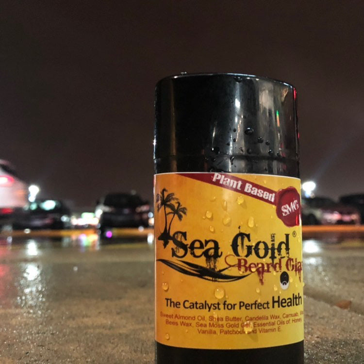 Sea Moss Gold Beard Glaze-Knowledge Designz