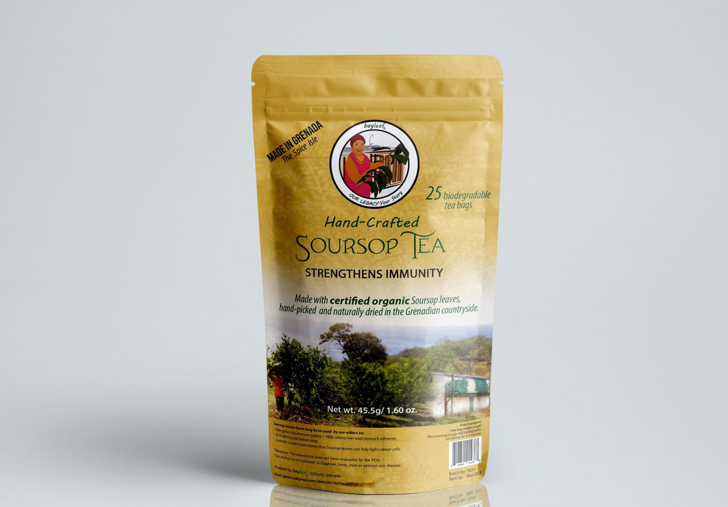 Sour Sop Tea Bags-Knowledge Designz