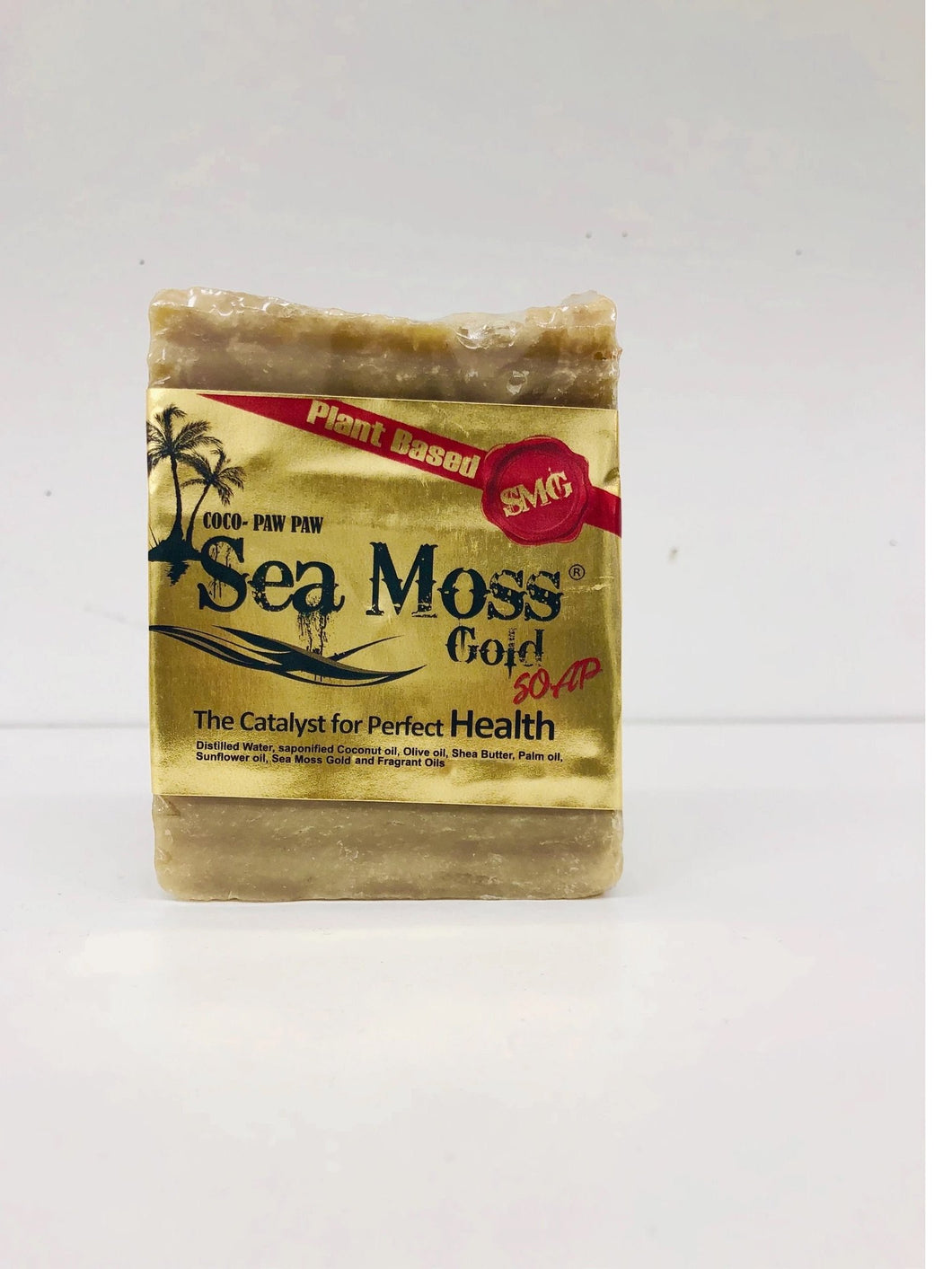 SEA MOSS GOLD SOAP W COCO PAW PAW-Knowledge Designz