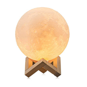 3D Rechargeable Moon Lamp