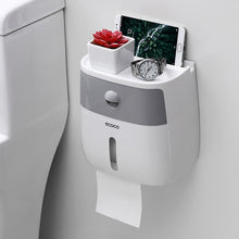 Load image into Gallery viewer, Waterproof Toilet Paper Holder