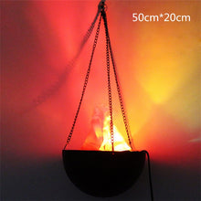 Load image into Gallery viewer, Halloween Electronic Fake Flame Fire Hanging Lamp