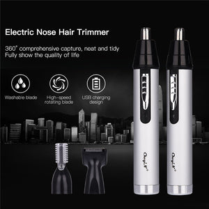 3 in 1 Electric Ear Nose Trimmer for Men's