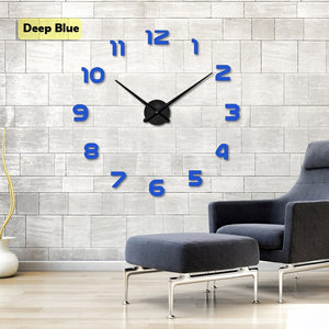 New 3D Diy Wall Clock