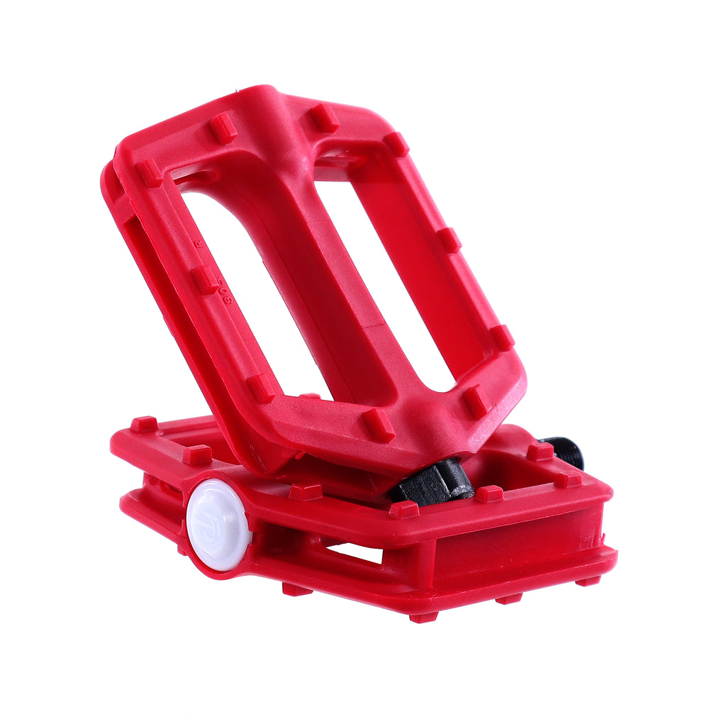 "Pedals- 9/16"" Red"