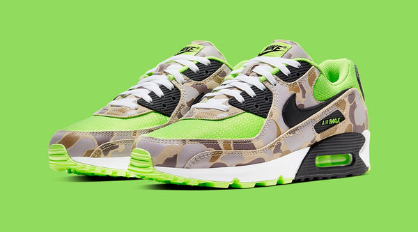 NIKE AIR MAX 90 'GREEN DUCK CAMO'