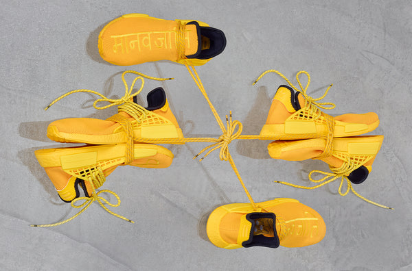 adidas Originals x Pharrell Williams HU NMD 'Yellow'