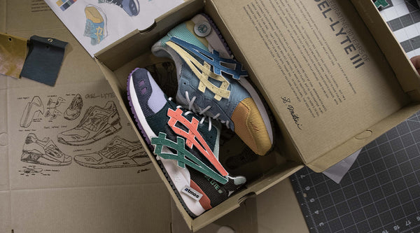 ATMOS JAPAN x SEAN WOTHERSPOON x ASICS GEL-LYTE III OG