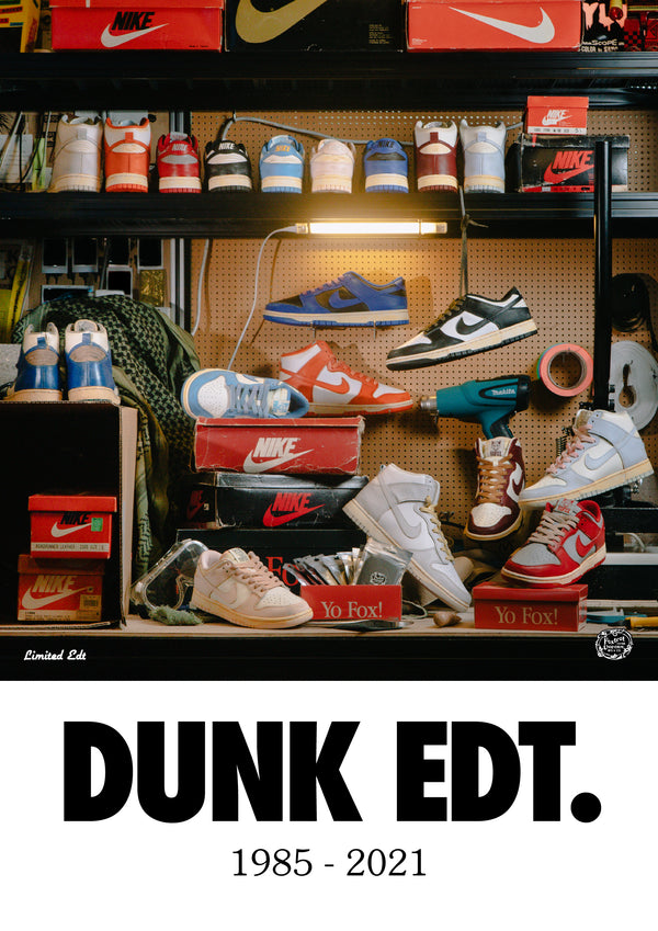 LIMITED EDT presents DUNK EDT.