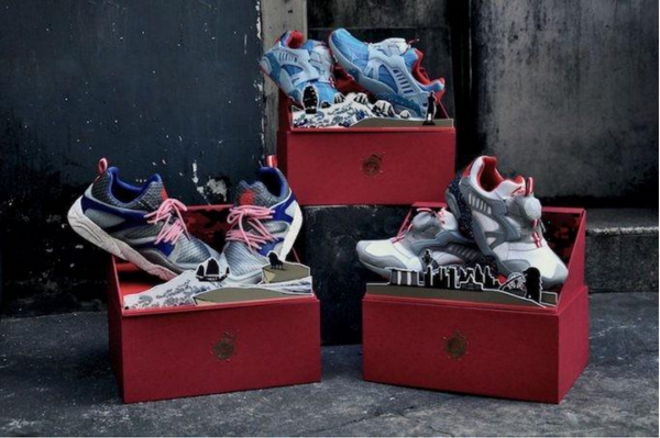 PUMA x Limited Edt Blaze of Glory – Chapter 1, 2 and 3
