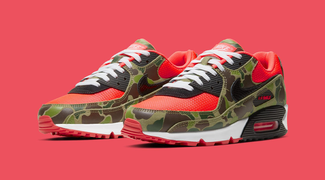 NIKE AIR MAX 90 'REVERSE DUCK CAMO' – Limited Edt