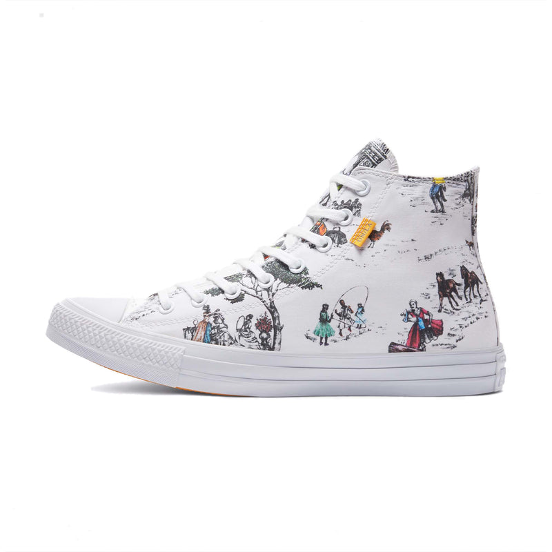 + Union LA Chuck Taylor All Star High 'White'