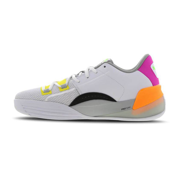 "Puma Clyde Hardwood Basketball Shoes ""retro white"""