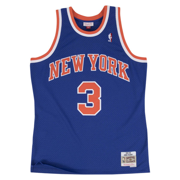 NBA Hardwood Classics Swingman Jersey New York Knicks John Starks 1991-92