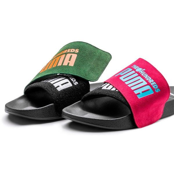 + The Hundreds Leadcat Slides