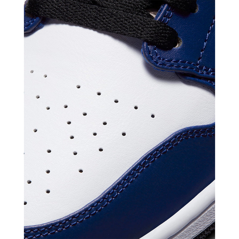Air Jordan 1 Low 'White Deep Royal Blue'