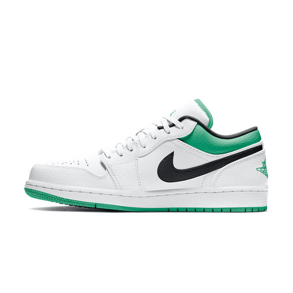 Air Jordan 1 Low 'White Lucky Green'