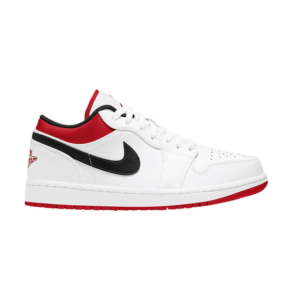 Air Jordan 1 Low GS 'White Gym Red'
