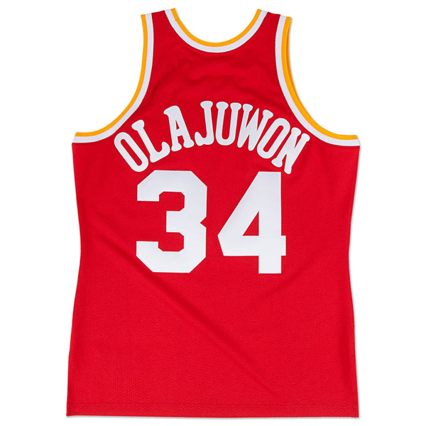 NBA Hardwood Classics Swingman Jersey Houston Rockets Hakeem Olajuwon 1993-94