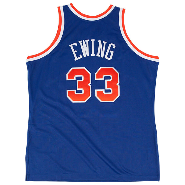 NBA Hardwood Classics Swingman Jersey New York Knicks Patrick Ewing 1991-92