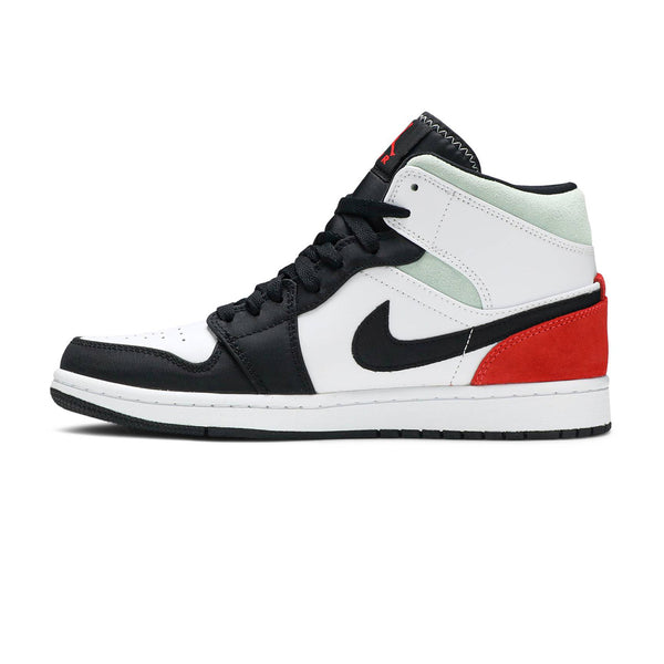 Air Jordan 1 Mid SE 'Red Black Toe'