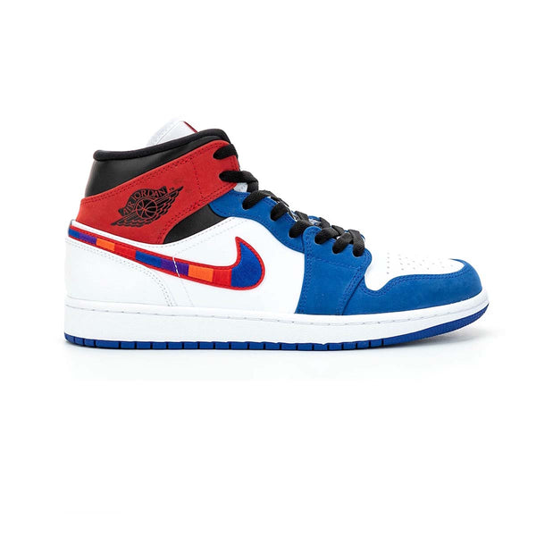 Air Jordan 1 MID SE White/University Blue