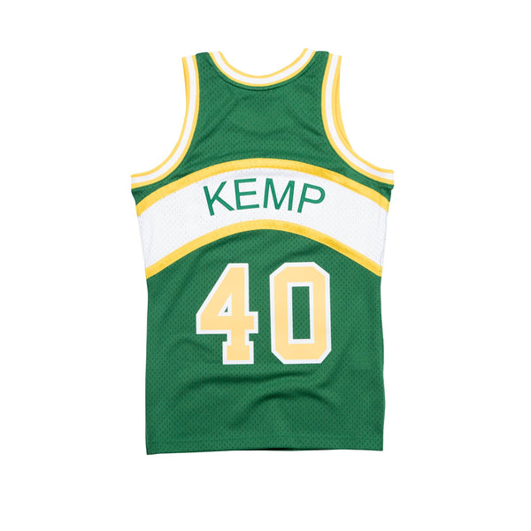 NBA Hardwood Classics Swingman Jersey Seattle Supersonics Shawn Kemp 1994-95
