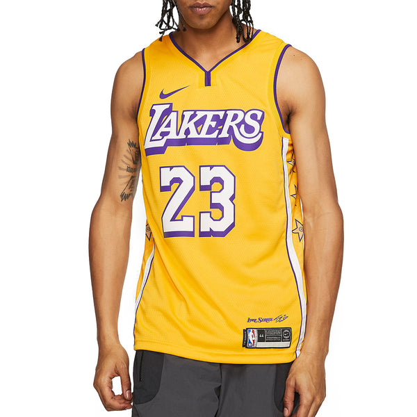 NBA Swingman Jersey LeBron James Lakers City Edition
