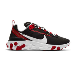 Nike Womens React Element 55 Black/White/Gym Red