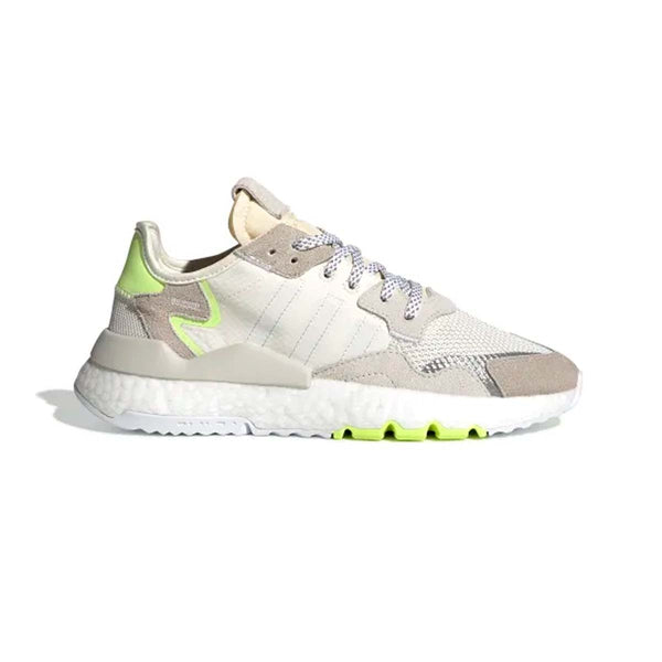 adidas Originals NITE JOGGER SHOES OFF WHITE / CLOUD WHITE / HI-RES YELLOW