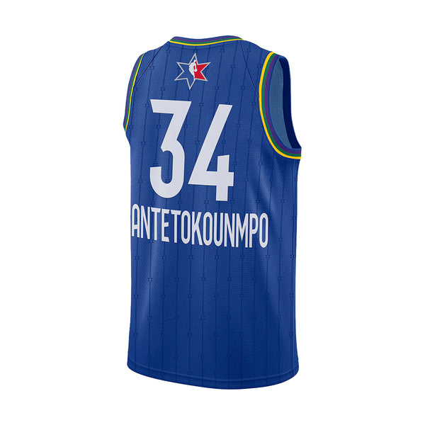 NBA Swingman Jersey Giannis Antetokounmpo All-Star