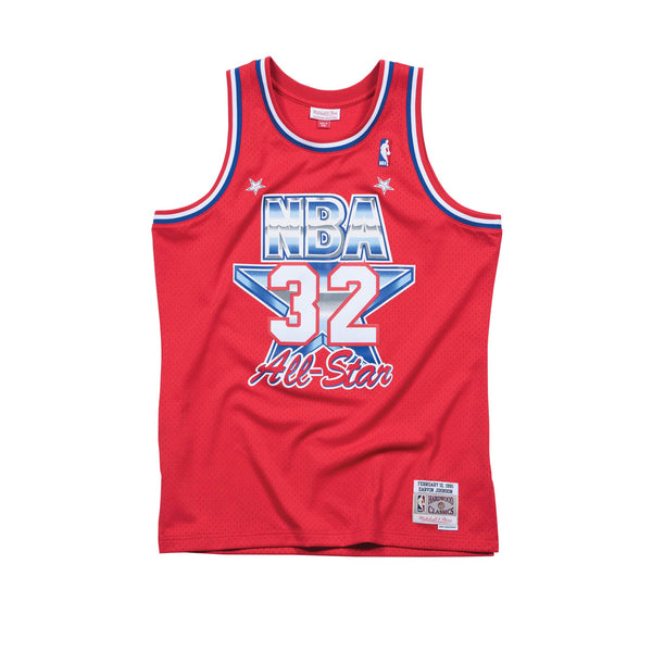 NBA Hardwood Classics Swingman Jersey All-Star Magic Johnson 1991