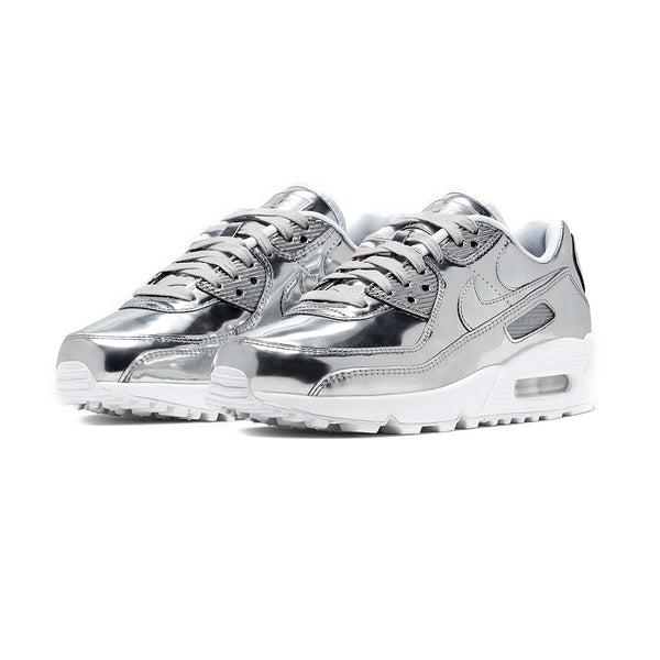 Wmns Air Max 90 'Metallic Pack - Chrome'