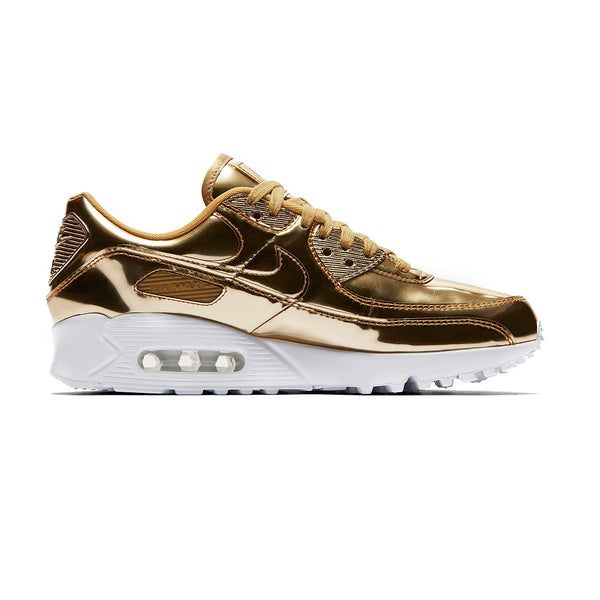 Wmns Air Max 90 'Metallic Pack - Gold'