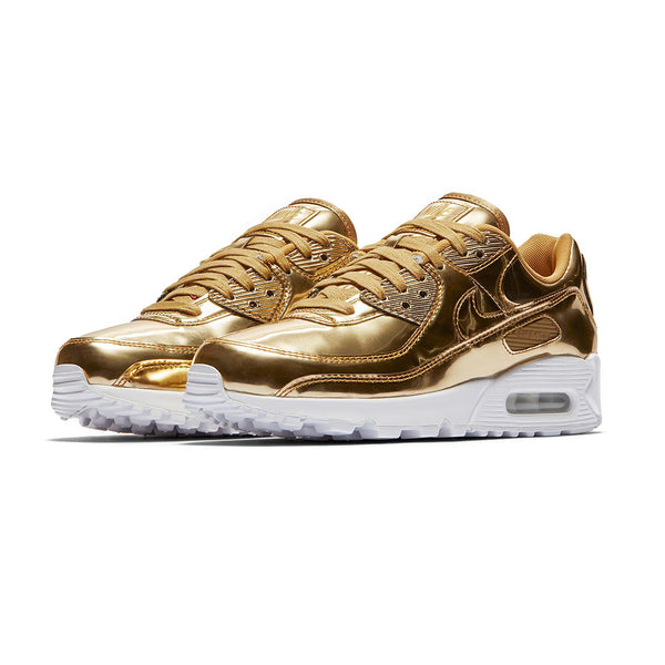 W Air Max 90 'Metallic Pack - Gold'