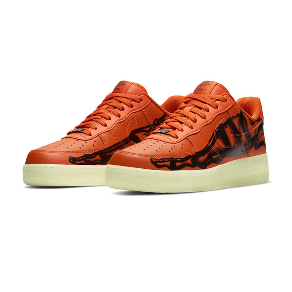 Air Force 1 Low 'Orange Skeleton'