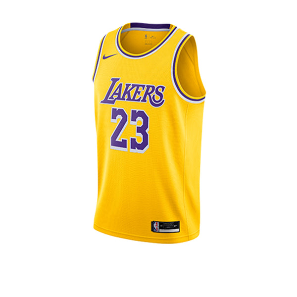 LeBron James Lakers Icon Edition Swingman Jersey 20-21