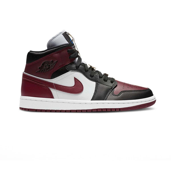 Wmns Air Jordan 1 Mid SE 'Black Dark Beetroot'