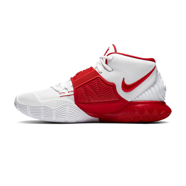 Kyrie 6 'White University Red'