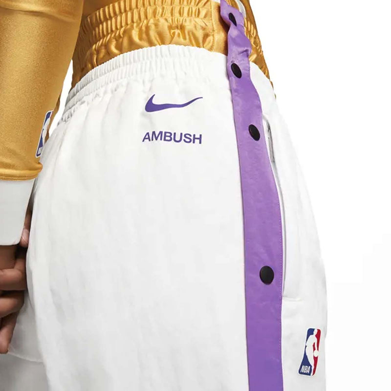 + AMBUSH NBA Lakers Tearaway Trousers