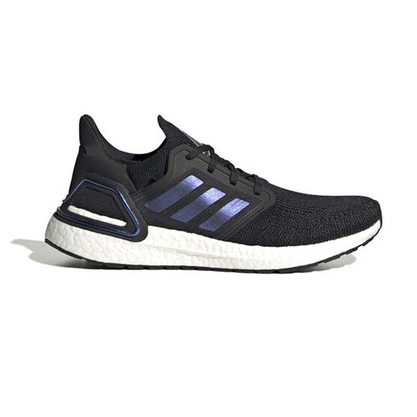 adidas Ultraboost 20 Shoes Core Black / Boost Blue Violet Met. / Cloud White
