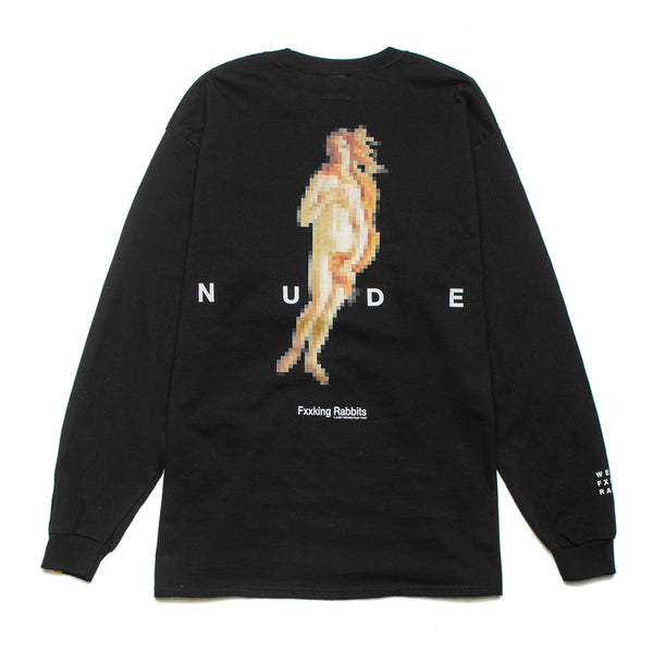 Pixelated Nude L/S Tee