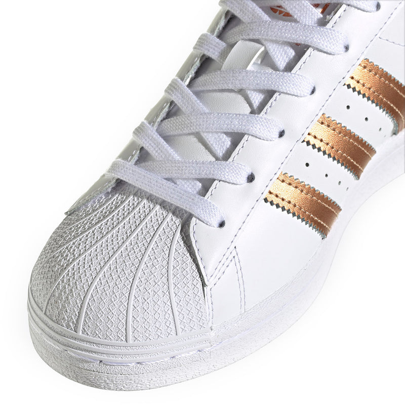 Wmns Superstar 'White Copper Metallic'
