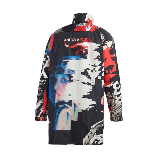 CH1 Allover Print Long Jacket