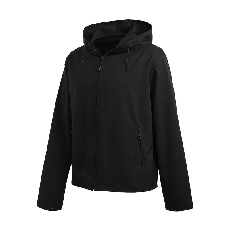 CL Stretch Hooded Windbreaker